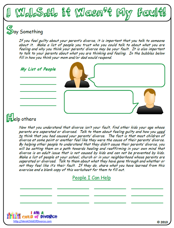 Divorce Worksheet Free Worksheets Library – Divorce Property Division Worksheet