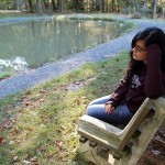 Teen By Pond